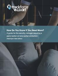 A guide for the security manager requiring a panic button or lone worker protection ebook cover